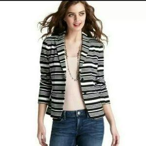 Ann Taylor LOFT black&white Blazer size small